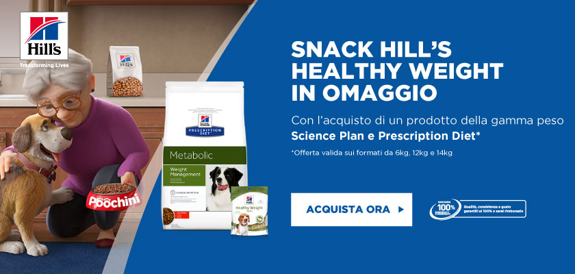 Scopri il nuovo Hill's Prescription Diet Metabolic