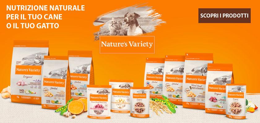 Scopri i nuovi prodotti Nature's Variety