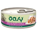 OasyNatural umido al pollo con fegato e verdure
