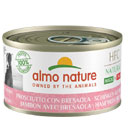 Almo NatureHFC Natural per cani Made in Italy (prosciutto con bresaola)