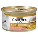 PurinaGourmet Gold dadini in salsa con salmone e pollo
