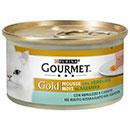 PurinaGourmet Gold mousse con merluzzo e carote