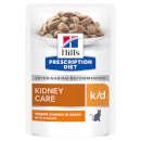 Hill'sPrescription Diet k/d feline bocconcini al pollo