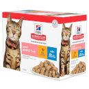 Hill'sScience Plan feline Adult Light bocconcini multipack