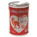 MonAmourAdult Paté per gatti con anatra e verdure