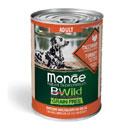 MongeBWild Grain Free bocconi di tacchino