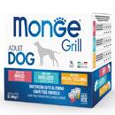 MongeGrill Multipack Dog (manzo, merluzzo, pollo, tacchino)