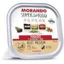 MorandoSuper Food Adult Medium Gustoso Paté (manzo)