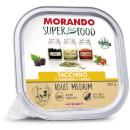 MorandoSuper Food Adult Medium Gustoso Paté (tacchino)