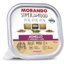 MorandoSuper Food Adult Mini 8+ Gustoso Paté (agnello)