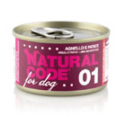 Natural Codefor dogs 01 (agnello e patate)