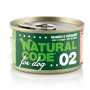 Natural Codefor dogs 02 (manzo e verdure)