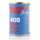 Natural Codefor dogs 405 (maiale con piselli)