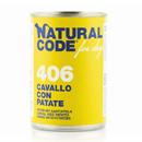 Natural Codefor dogs 406 (cavallo con patate)