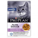 PurinaPro Plan Nutrisavour Adult 7+ (tacchino in salsa)