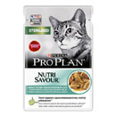 PurinaPro Plan Nutrisavour Sterilised (pesce in salsa)