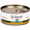 Schesir for dog in gelatina (pollo e aloe)