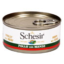 Schesir for dog in gelatina (pollo e manzo)