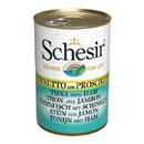 Schesirin brodo di cottura (tonnetto con prosciutto)
