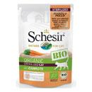 SchesirBio sterilized cat (manzo, pollo e carote)