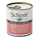 Schesirin gelatina (pollo e carote)