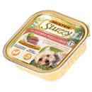 StuzzyMister paté per cani (tacchino, piselli e carote)